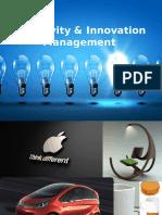 Creativity & Innovation Management