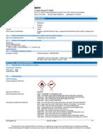Liquefied Petroleum Gas C3H8 Safety Data Sheet SDS P4646