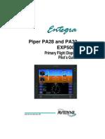 Primary Flight Display Pilot's Guide, Avadyne