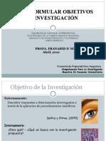 Objetivos de Investigacion-unefa