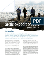Arctic expedition 2016