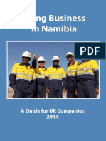 Doing Business in Namibia 2014
