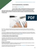 IVA Exportaciones Tipos de Operaciones y Normativa