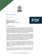 Procuraduría pide a MinDefensa que aclare si Farc pidió renuncia de Gral. Forero