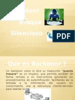 Presentacion de Backdoor