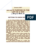 Satan's Purpose in the Life of a Son
