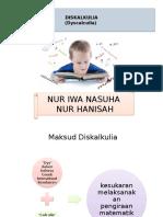Masalah Diskalkulia Kila 120930044637 Phpapp01