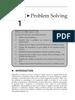 Topic 1 Problem Solving