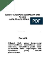 Hazard Identification Dan Risk Assesment Moda Transportasi Darat