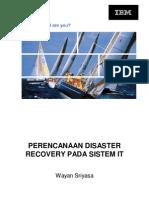 PERENCANAAN DISASTER RECOVERY PADA SISTEM IT (PPT)