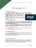 Model Contract Diriginte Instalatii