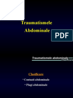 Traumatisme abdominale