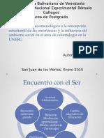 Aproximación Fenomenológica a La Concepción Estudiantil de Las