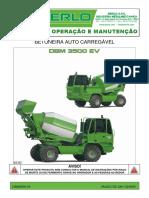 Manual de Operação Betoneira Merlo DBM3500EV