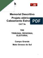 TRE MS Tomada de Preco 2 2011 Anexo I a Memorial Descritivo