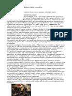 ACONTECIMIENTO DE IMPORTANCIA QUE CAMBIO AL MUNDO