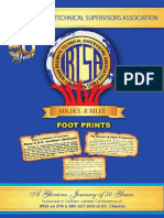 Foot Prints Indian Railways Technical Supervisors Association GOLDEN JUBILEE YEAR A Look back at the glorious journey Glimpse of 50 Glorious years of Struggle & Achievements (1965 – 2015)