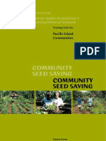 Community Seed Saving