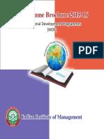 Programme Brochure