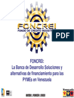 Foncrei.- Banco de Desarrollo