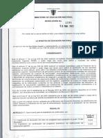 Resolución 2590 Del 2012
