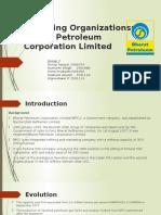 BPCL Organization Structure