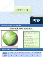 Marketing Strategy for Green Ox