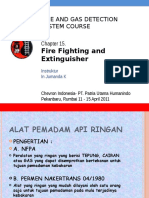 Fire Fighting and Extinguishers