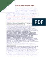 Carta de Derechos de Los Ciudadanos Ante La Justicia