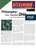 DNA_Business in Thailand