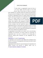 organization structure Strategic Management