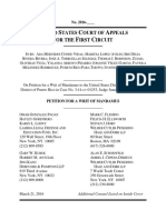 Puerto Rico marriage equality - mandamus petition