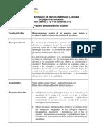 Taller Representaciones Sociales de Los Maestros Sobre Lectura y Escritura e Implicaciones en Las Prácticas de Enseñanza