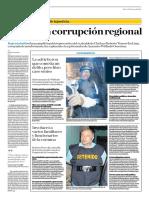 Golpe a la corrupción regional