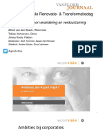 NRP - Themasessie 1 Wonen - Verandering en Verduurzaming
