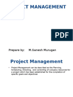 Introduce Project Management