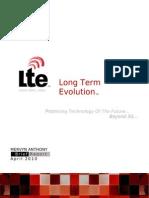 LTE 3.9G/4G - Report (April, 2010)