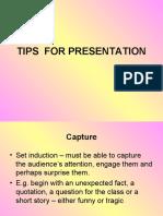 Tips for Presentation (1)