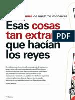 Caprichos de Reyes. Rarezas y Manías de Los Monarcas Españoles