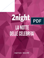 2night primavera 2016 - Roma