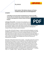Cque_Projets d'Investissements DHL Express France VF
