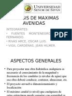 Analisis de Maximas Avenidas