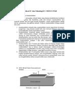 Fabrikasi IC Dan Teknologi IC CMOS N-Well