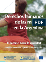Ddhh de Las Mujeres en Argentina - Libro