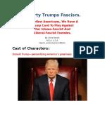 Liberty Trumps Fascism