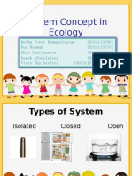 System Concept in Ecology