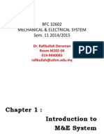 Topic 1 Introduction to ME Systems