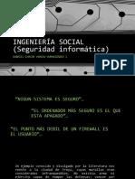 Ingeniería Social (Seguridad Informática) Humanidades i Gabriel Ch