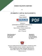 107503126-WorkingCapitalManagement-Omaxe.doc