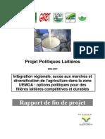 Rapport Fin Projet Politiques Laitieres